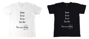 Camisetas e caneca à venda em www.useblug.com.br